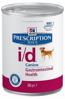 Hill`s Prescription I/D Diet Gastrointestinal Health для собак 360 гр